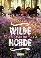 Wilde Horde: Die Pferde im Wald Cover