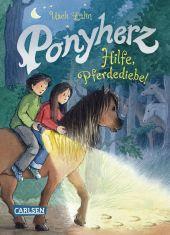 Ponyherz: Hilfe, Pferdediebe! Cover
