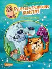 Professor Plumbums Bleistift: Zwischen Fischen! Cover