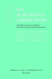 Ökonomisches Wissen in enzyklopädischen Sammelwerken des 18. Jahrhunderts - Strukturen und Übersetzungen