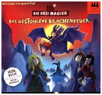 Die Drei Magier - Das gestohlene Drachenfeuer, 2 Audio-CDs