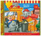 Benjamin Blümchen - Das neue Müllauto, 1 Audio-CD Cover