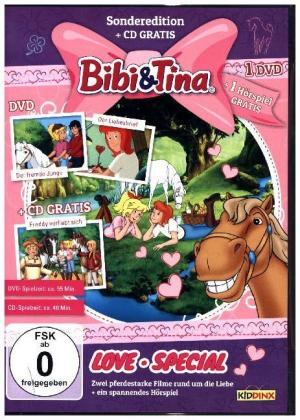 Bibi & Tina - Love-Special, 1 DVD + 1 Audio-CD