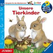 Wieso? Weshalb? Warum? junior. Unsere Tierkinder, 1 Audio-CD Cover