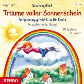 Träume voller Sonnenschein - Entspannungsgeschichten für Kinder, 2 Audio-CDs Cover