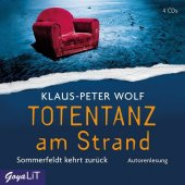 Totentanz am Strand, 4 Audio-CDs Cover