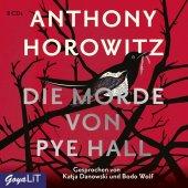 Die Morde von Pye Hall, 8 Audio-CDs Cover