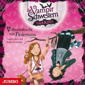 Die Vampirschwestern black & pink - Vollmondnacht mit Fledermaus, 2 Audio-CDs