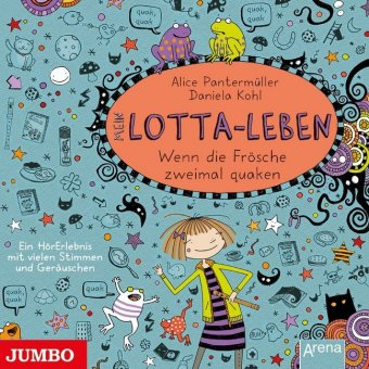 Mein Lotta-Leben - Wenn die Frösche zweimal quaken, 1 Audio-CD