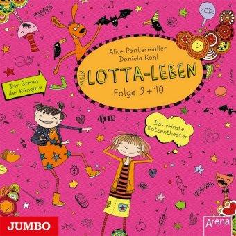 Mein Lotta-Leben - Das reinste Katzentheater / Der Schuh des Känguru, 2 Audio-CDs