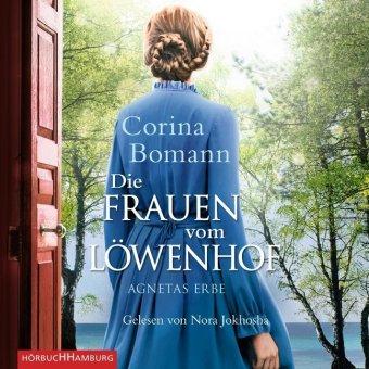 Die Frauen vom Löwenhof - Agnetas Erbe, 6 Audio-CDs, MP3 Format