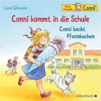 Conni kommt in die Schule / Conni backt Pfannkuchen, 1 Audio-CD