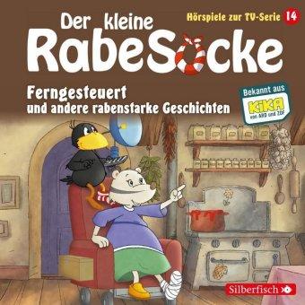 Der kleine Rabe Socke - Ferngesteuert und andere rabenstarke Geschichten, 1 Audio-CD