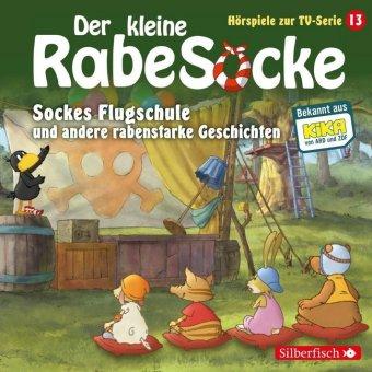 Der kleine Rabe Socke - Sockes Flugschule und andere rabenstarke Geschichten, 1 Audio-CD