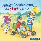 Jungs-Geschichten, die stark machen, 1 Audio-CD Cover