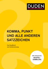 Komma, Punkt und alle anderen Satzzeichen Cover