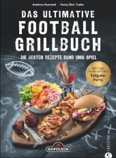 Das ultimative Football-Grillbuch Cover