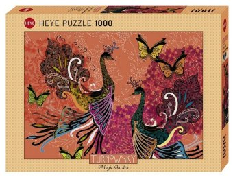Peacocks & Butterflies (Puzzle)