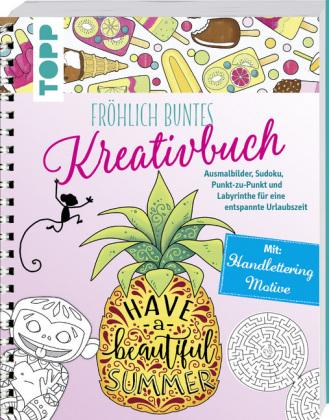 Fröhlich buntes Kreativbuch   Natascha Pitz   9783772483318   Bücher ...