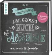 Handlettering. Das große Buch der Alphabete Cover