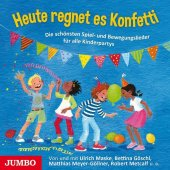 Heute regnet es Konfetti, 1 Audio-CD Cover