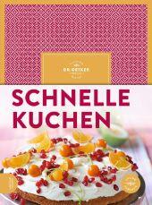 Dr. Oetker Schnelle Kuchen Cover