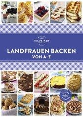 Dr. Oetker Landfrauen Backen von A-Z Cover
