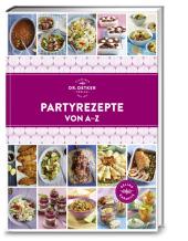 Dr. Oetker Partyrezepte von A-Z Cover