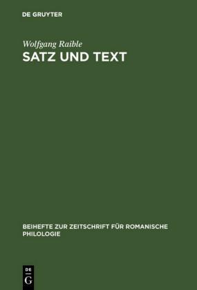 Satz und Text