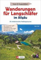 Wanderungen für Langschläfer im Allgäu Cover