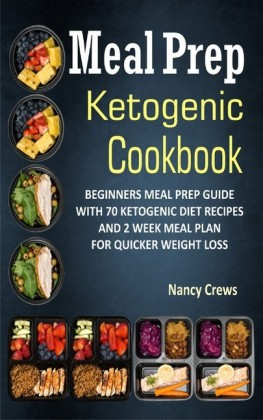 Meal Prep Ketogenic Cookbook