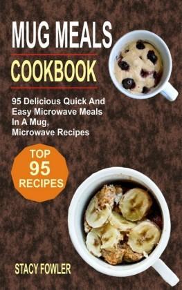 Mug Meals Cookbook