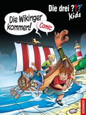 Die drei out Kids - Die Wikinger kommen! Cover