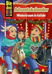 Die drei !!!, Adventskalender Cover
