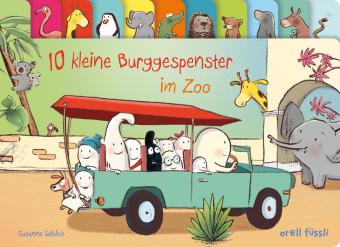 10 kleine Burggespenster im Zoo