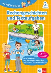 Die Mathe-Helden - Rechengeschichten und Textaufgaben 2. Klasse Cover