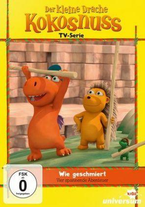 Der kleine Drache Kokosnuss TV Serie - Wie geschmiert, 1 DVD