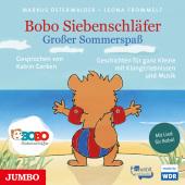 Bobo Siebenschläfer - Großer Sommerspaß, 1 Audio-CD Cover