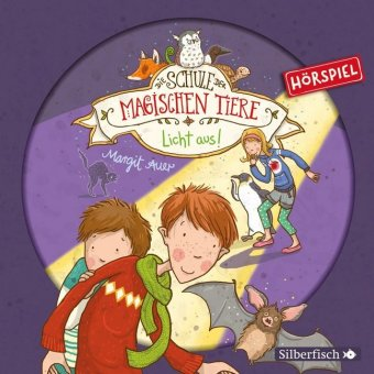 Die Schule der magischen Tiere - Licht aus!, 1 Audio-CD