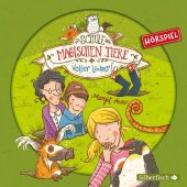 Die Schule der magischen Tiere - Voller Löcher!, 1 Audio-CD Cover