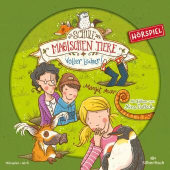 Die Schule der magischen Tiere - Voller Löcher!, 1 Audio-CD