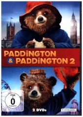 Paddington 1 & 2, 2 DVDs Cover