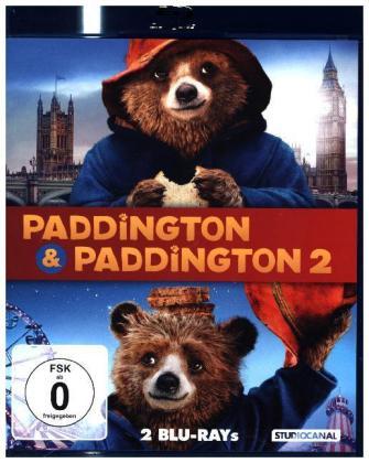 Paddington 1 & 2, 2 Blu-ray