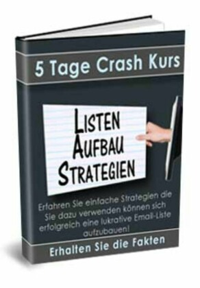Crash-Kurs - Listenaufbau Strategien