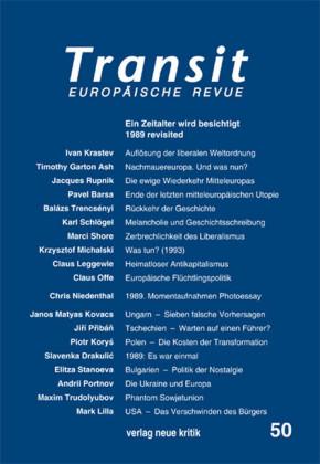 Transit 50. Europäische Revue