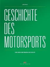 Geschichte des Motorsports Cover