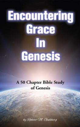 Encountering Grace in Genesis