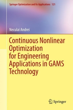 Continuous Nonlinear Optimization for Engineering Applications in GAMS Technology