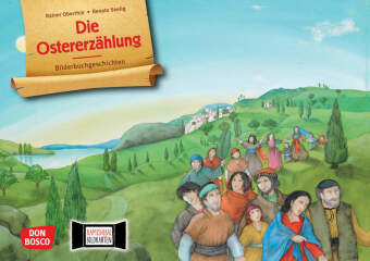 Die Ostererzählung. Kamishibai Bildkartenset