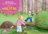 Einen Waldtag erleben mit Emma und Paul. Kamishibai Bildkartenset